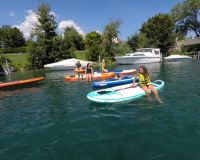 Initiation au paddle sur le lac de Bienne - 16.07.2019